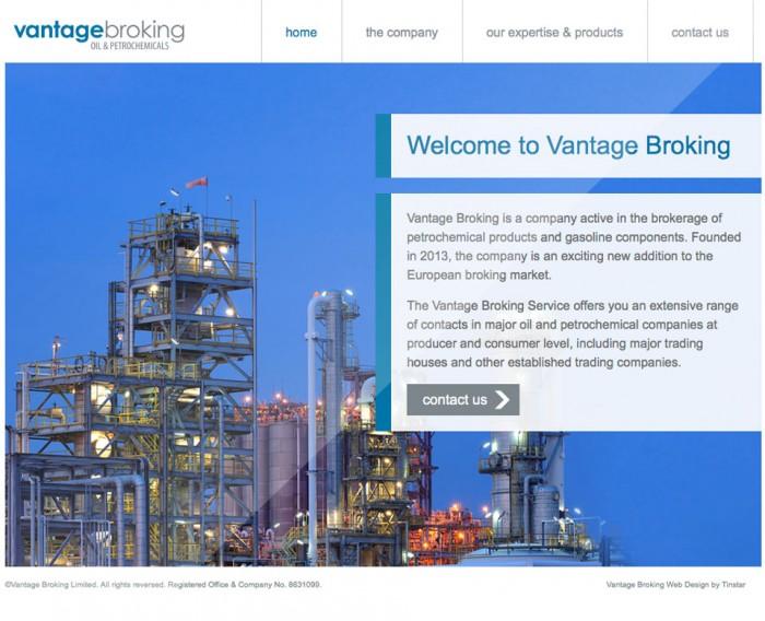 Vantage Broking Website
