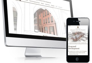 Kingsgate Development Website Home Page