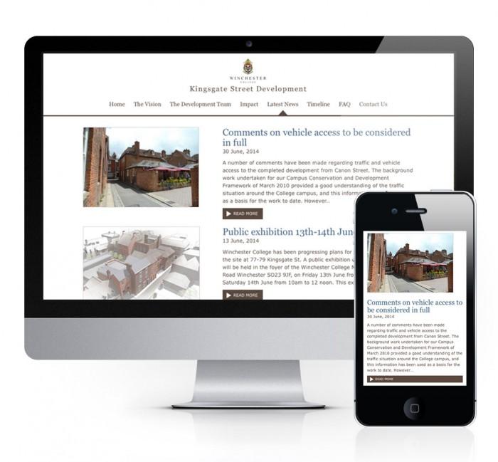 Kingsgate Street Blog Page