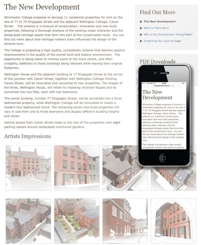 Kingsgate Street Vision Page