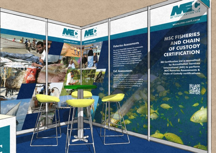 Exhibition Stand Inside Rendering