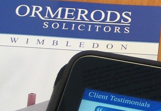 Ormerods Solicitors Brochure