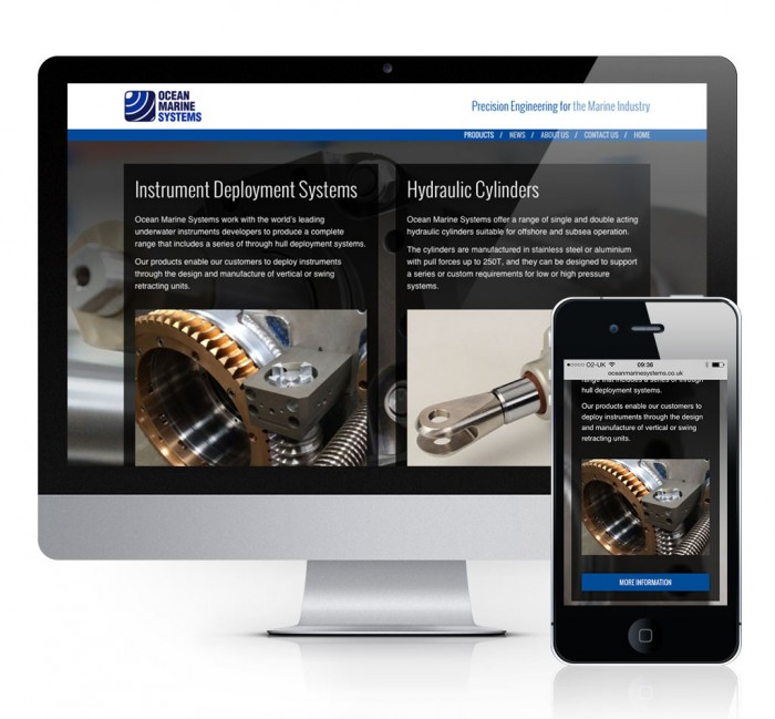 Ocean Marine Systems Products Page