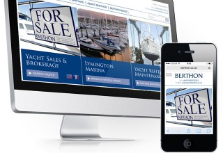 Berthon Shipyard Website