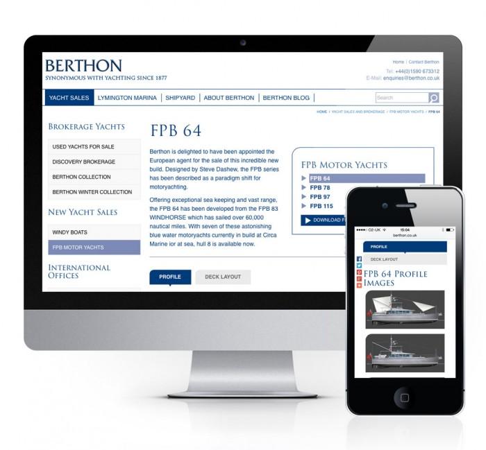 Berthon FPB Motor Yachts