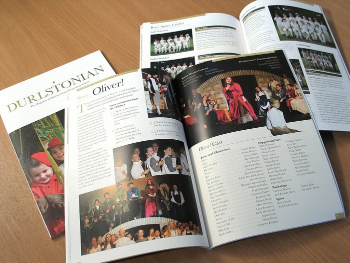 Durlstonian Oliver Production