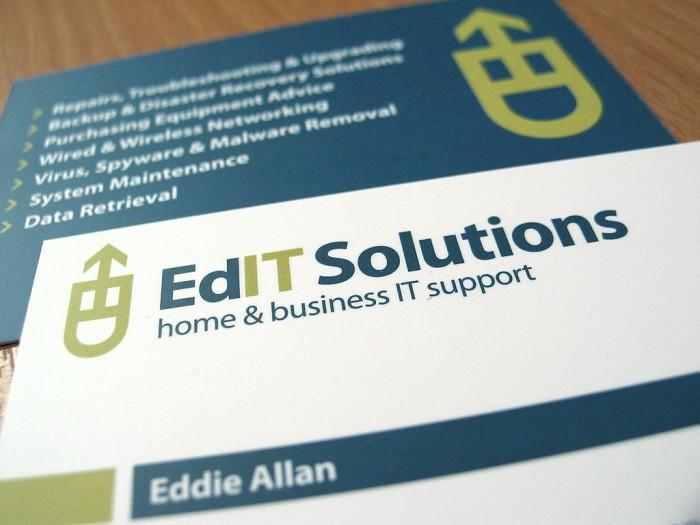 EdIT Solutions Logo Design