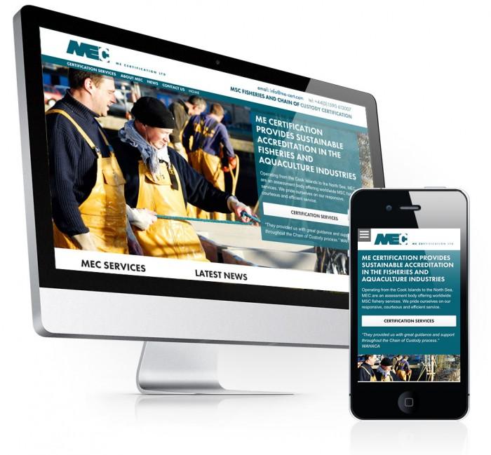 MEC Responsive Website Design