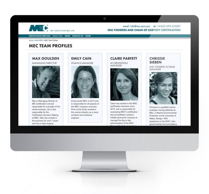 MEC Website Design