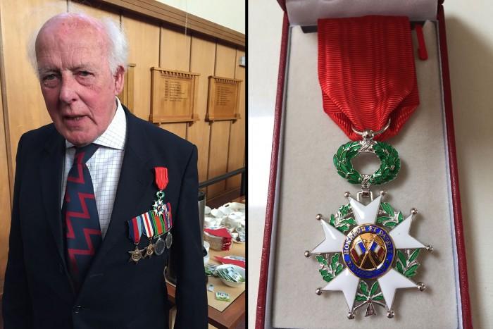 Marc van Hasselt et la Légion d'honneur