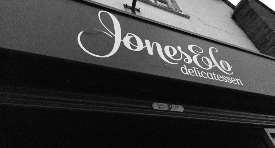 Jones & Co Delicatessen Signage