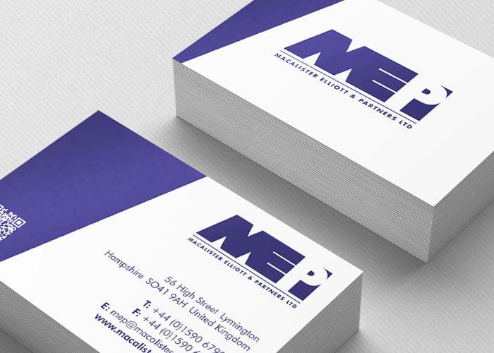 Macalister & Elliott branding