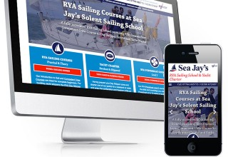 Sea Jay's Solent Sailing School Website