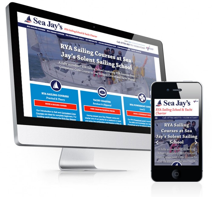 Sea Jay's Solent Sailing School Home Page