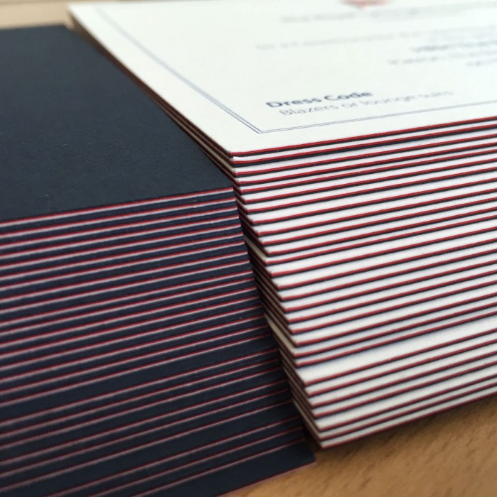 Triplex Invitations Edges