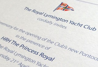 Triplex Invitations for a Royal Event