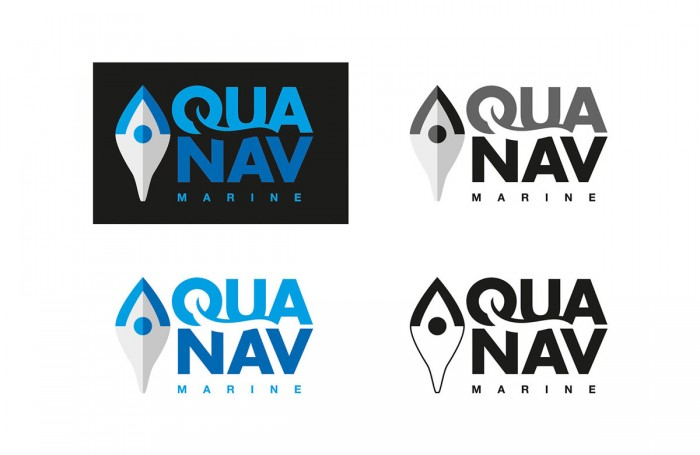 AquaNav Logo – Various Versions