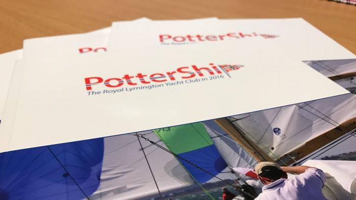 Pottership Magazine Design