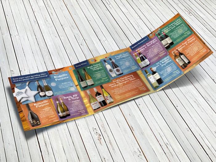 The Solent Cellar Leaflet – Inside