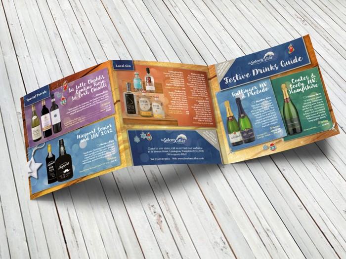 The Solent Cellar Leaflet – Outside