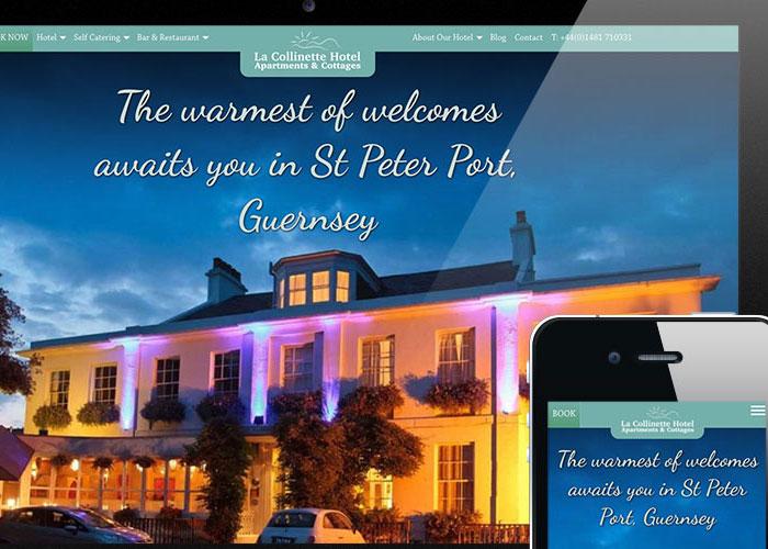 La Collinette Hotel Website Design