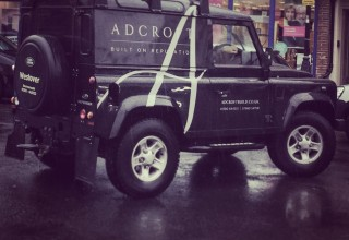 Adcroft Landrover Vehicle Livery