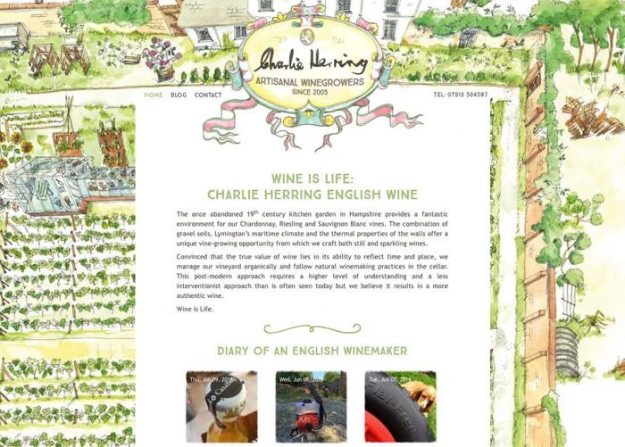 Charlie Herring Wine Website