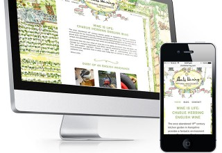 Charlie Herring Wine Website Design