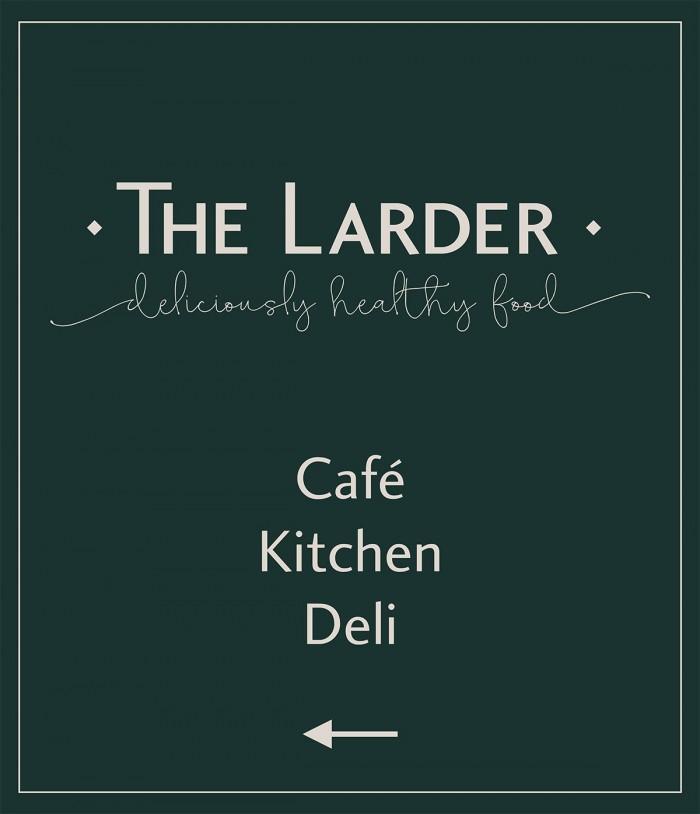 The Larder Lymington Signage