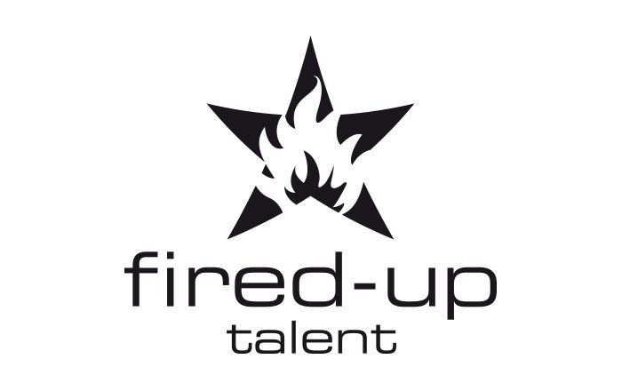 Fired Up Talent Logo