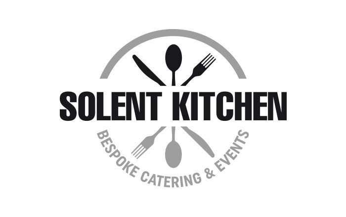 Solent kitchen logo stationery design by tinstar design for Kitchen design logo