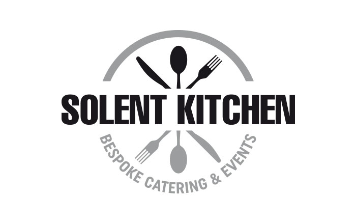 Solent kitchen logo stationery design by tinstar design for Kitchen decoration logo