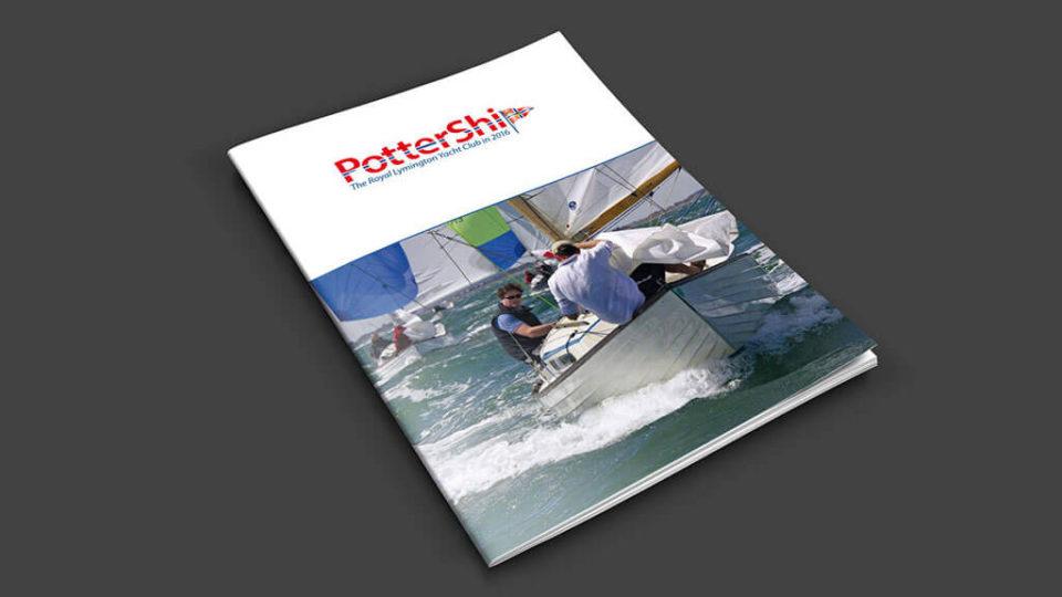 The Royal Lymington Yacht Club Pottership Magazine Cover