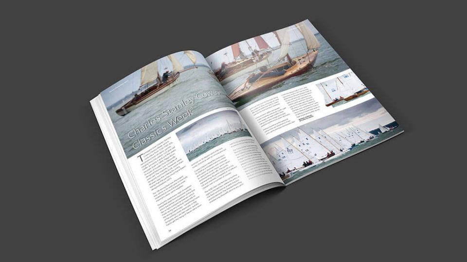 The Royal Lymington Yacht Club Pottership Magazine Spread