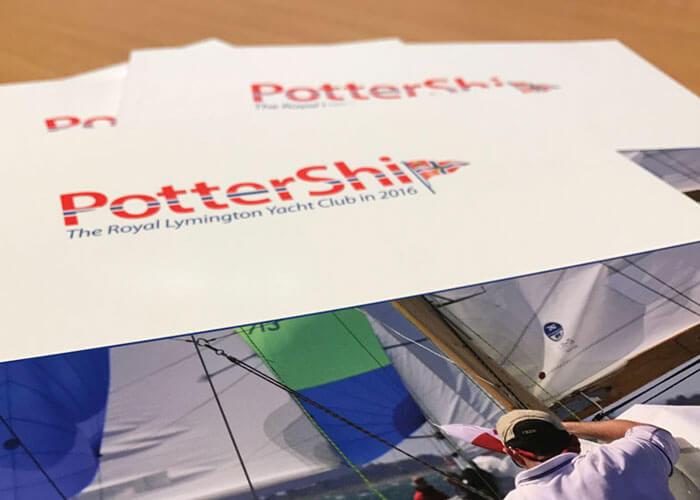 The Royal Lymington Yacht Club Pottership Magazine