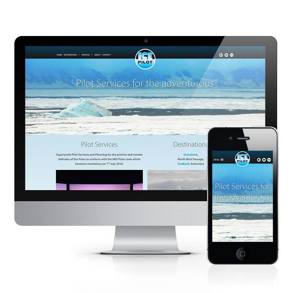 Ice Pilot Services Website Design