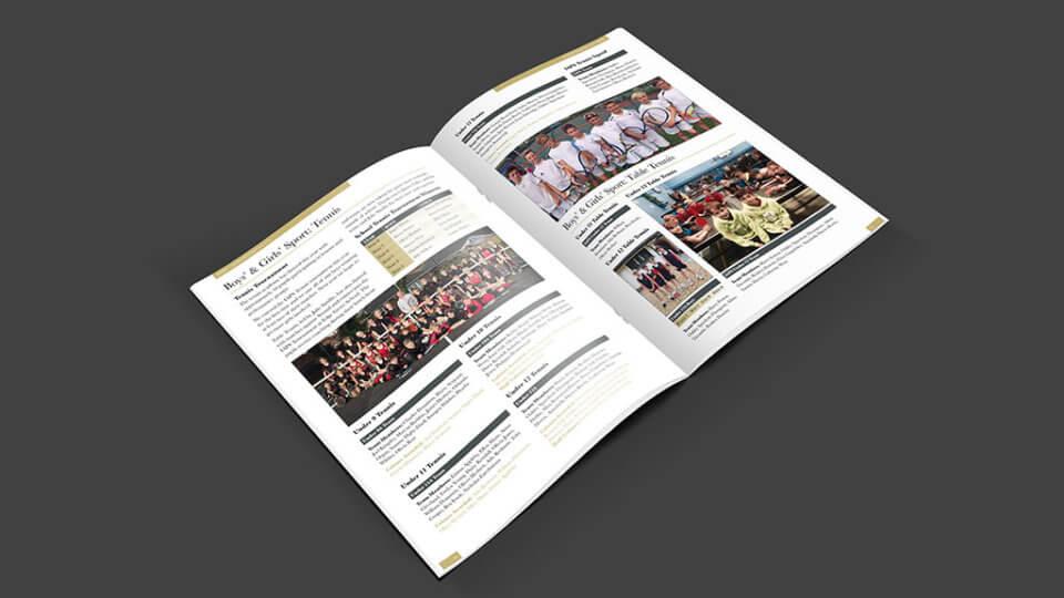 Durlston Court School Magazine Spread