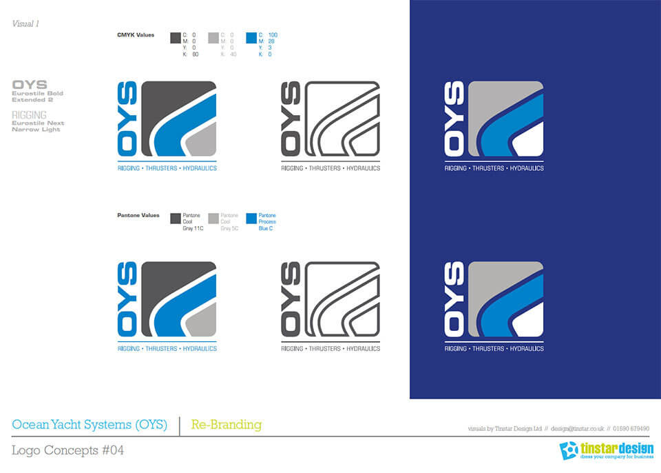 OYS simple logo guidelines and information