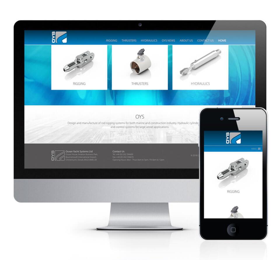 OYS Website Design