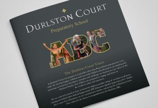 Durlston Court ABC Brochure Design