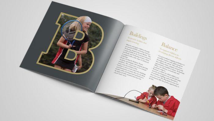 Durlston Court ABC Brochure Design