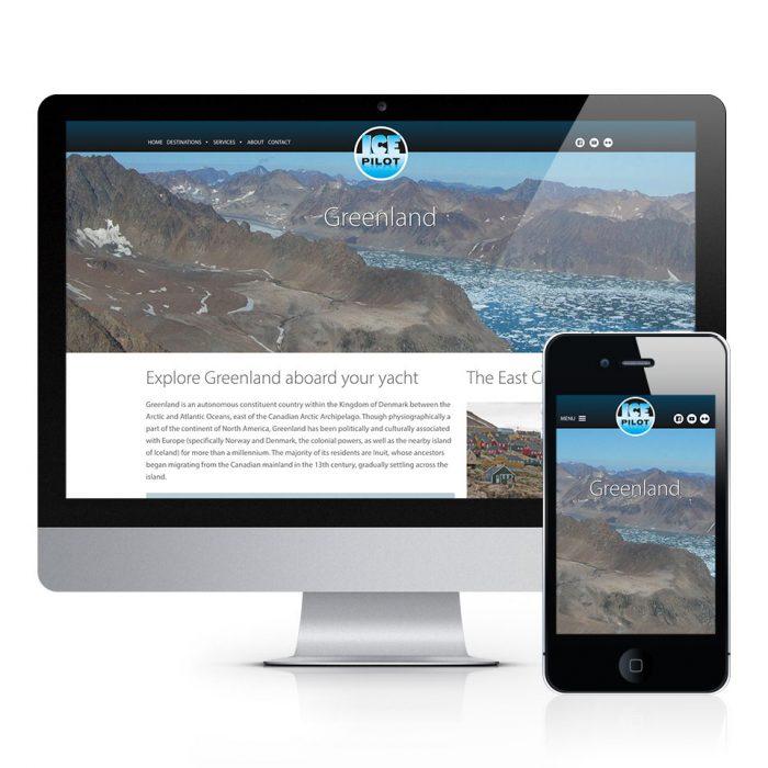 Ice Pilot Website & Logo Design
