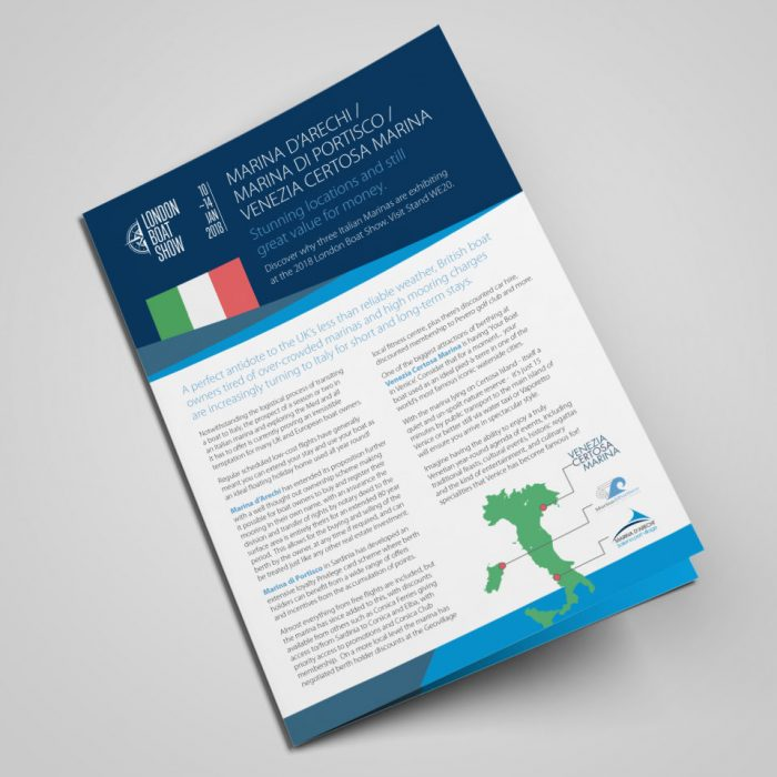Italian Marinas Brochure Design