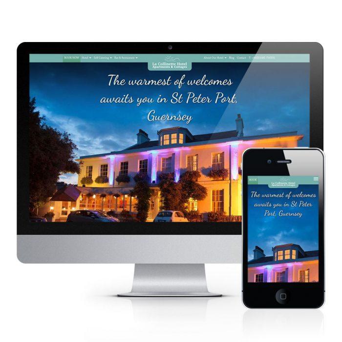 La Collinette Website Design