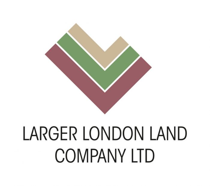 Larger London Land Company Logo & Stationery Design