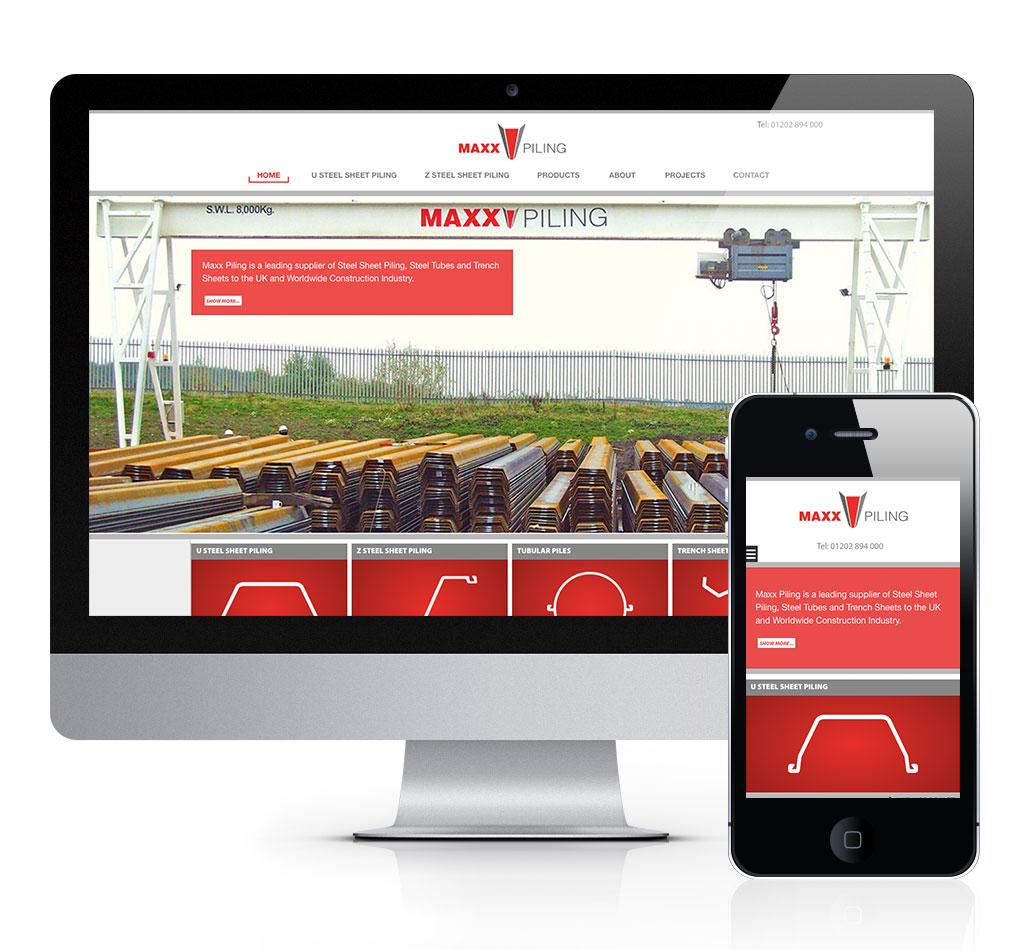 Maxx Pilling Website Design - by Tinstar Design