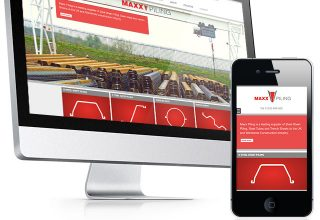 Maxx Pilling Website Design