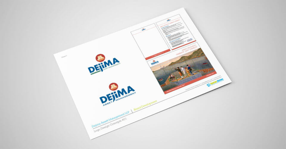 Dejima Asset Management refined logo concepts