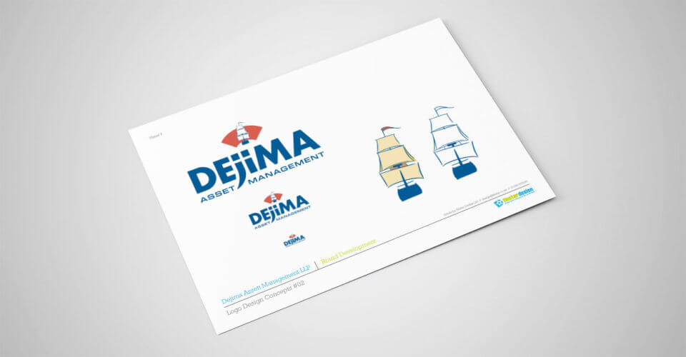 Dejima Asset Management final logo design