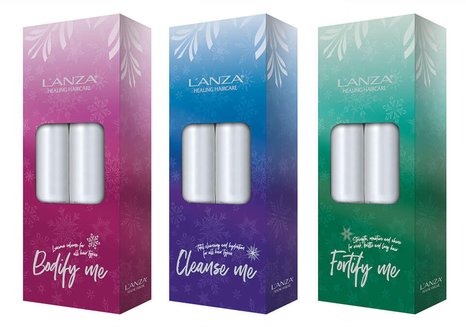 L'ANZA Healing Haircare packaging design